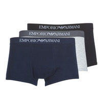 Clothing Men Boxer shorts Emporio Armani CC722-111610-94235 Marine / Grey / Black