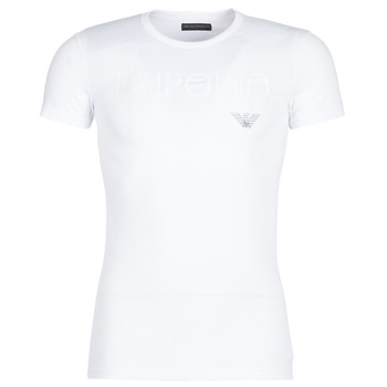 Clothing Men short-sleeved t-shirts Emporio Armani CC716-111035-00010 White