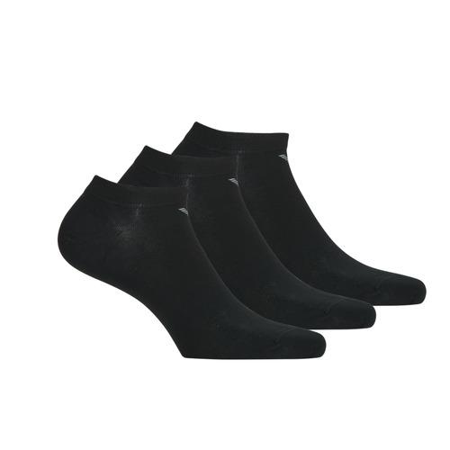Shoe accessories Men Socks Emporio Armani CC134-300008-00020 Black