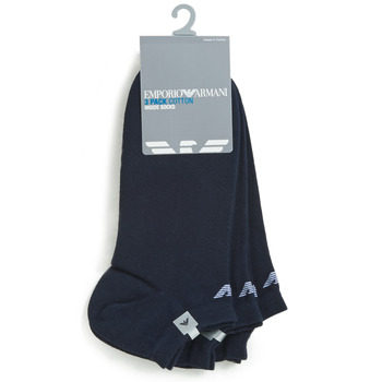 Shoe accessories Men Socks Emporio Armani CC134-300008-00035 Marine