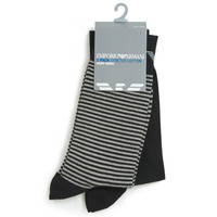 Shoe accessories Men Socks Emporio Armani CC114-302302-00020 Black