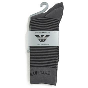 Clothes accessories Men Socks Emporio Armani CC114-302302-00044 Grey