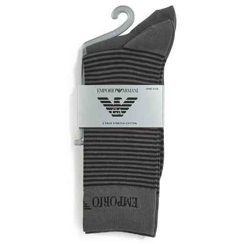 Shoe accessories Men Socks Emporio Armani CC114-302302-00044 Grey