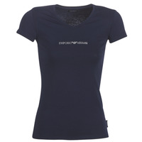 Clothing Women Short-sleeved t-shirts Emporio Armani CC317-163321-00135 Marine