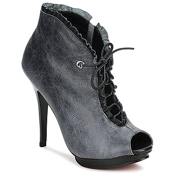 Shoes Women Shoe boots Carmen Steffens 6002043001 Black / Grey