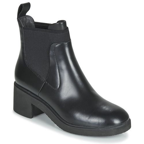 Shoes Women Mid boots Camper WONDER CHELSEA Black