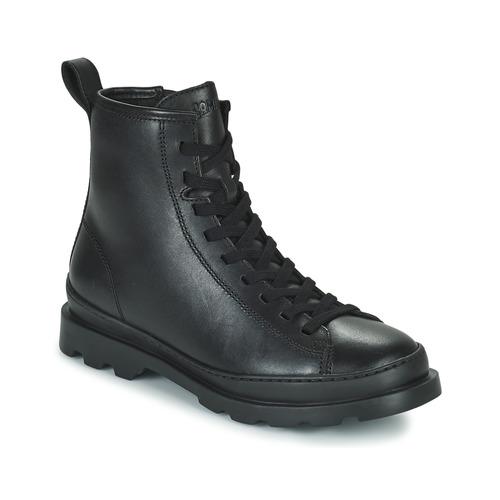 Shoes Women Mid boots Camper BRUTUS Black