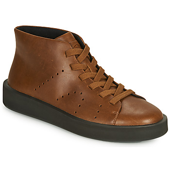 Shoes Men Hi top trainers Camper COURB Brown