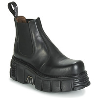 Shoes Mid boots New Rock M-1554-C1 Black