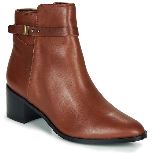 Shoes Women Ankle boots Clarks Poise Freya Brown