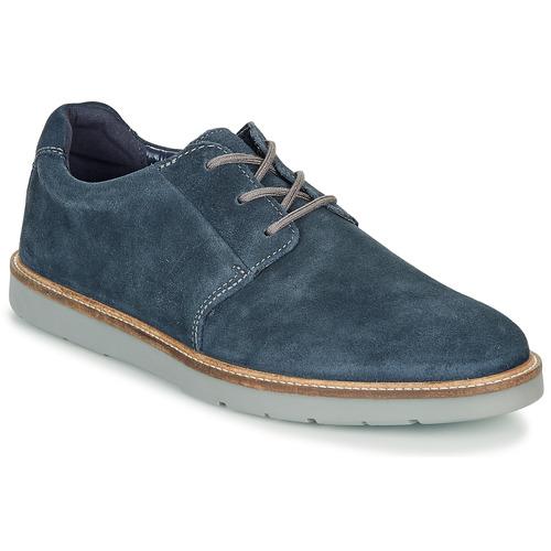 Shoes Men Derby Shoes Clarks Grandin Plain Navy