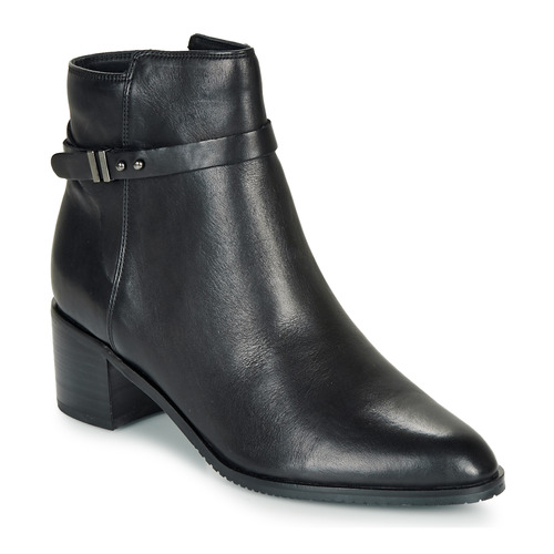 Shoes Women Ankle boots Clarks Poise Freya  black