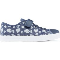 Shoes Children Low top trainers Geox JR CIAK shoes BLUE