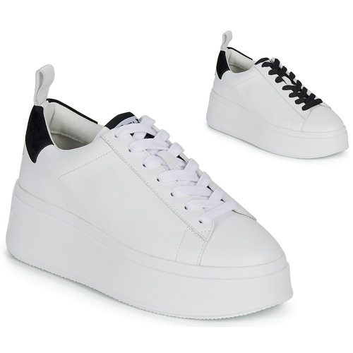 Shoes Women Low top trainers Ash MOON White