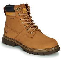 Shoes Men Mid boots Caterpillar Ryman Wp Sudan / Brown