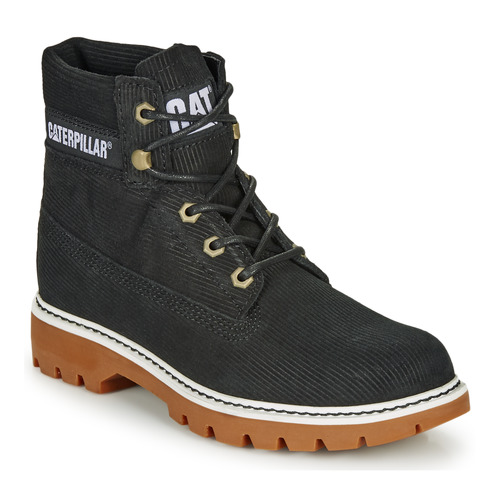 Shoes Women Ankle boots Caterpillar Lyric Corduroy  black