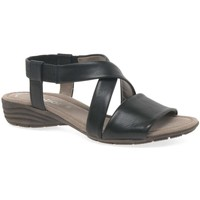 Shoes Women Sandals Gabor Ensign Womens Casual Sandals black