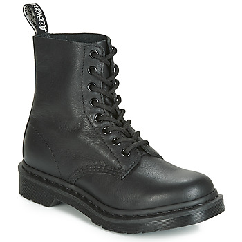 Shoes Women Mid boots Dr Martens 1460 PASCAL MONO Black