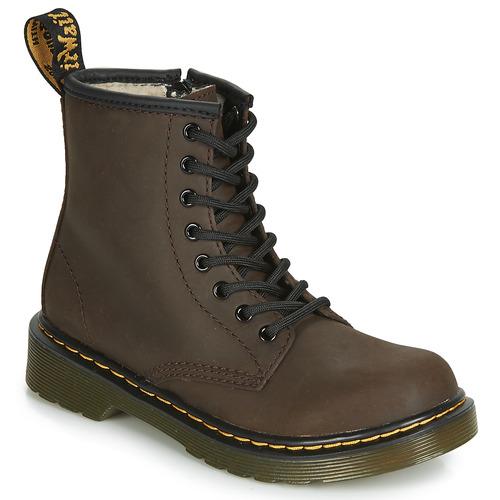 Shoes Children Mid boots Dr Martens 1460 SERENA JUNIOR Brown