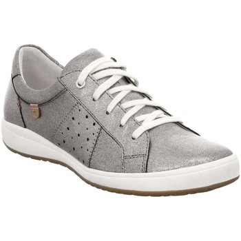 Shoes Women Low top trainers Josef Seibel Caren 01 Womens Casual Trainers Silver
