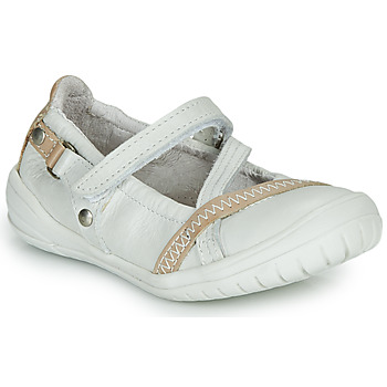 Shoes Girl Flat shoes Ramdam BEZIERS White