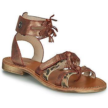 Shoes Girl Sandals Catimini CABRI Brown