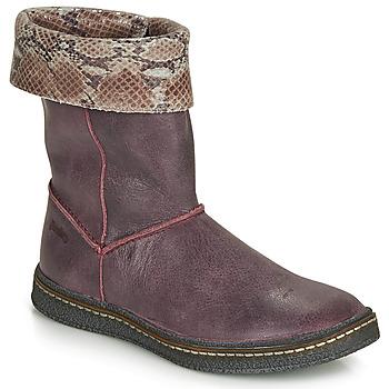 Shoes Girl High boots Ramdam CRACOVIE Bordeaux