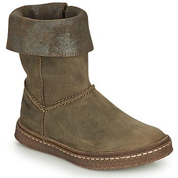 Shoes Girl High boots Ramdam CRACOVIE Kaki