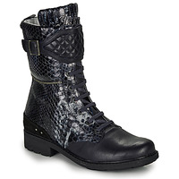Shoes Girl High boots Ikks KIMBERLEY Black