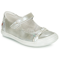 Shoes Girl Flat shoes GBB MARION Silver
