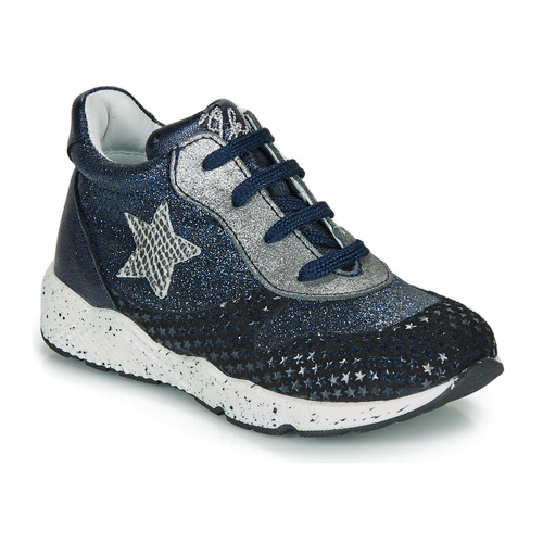 Shoes Girl Low top trainers Ikks KAREN Blue
