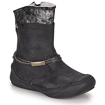 Shoes Girl High boots Ikks HILLARY Black