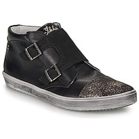 Shoes Girl Hi top trainers Ikks BIANCA Black