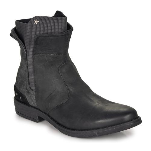 Shoes Girl Mid boots Ikks PAMELA Black