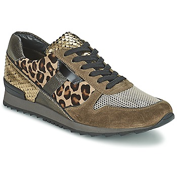Shoes Women Low top trainers Kennel + Schmenger LIZAN Camel