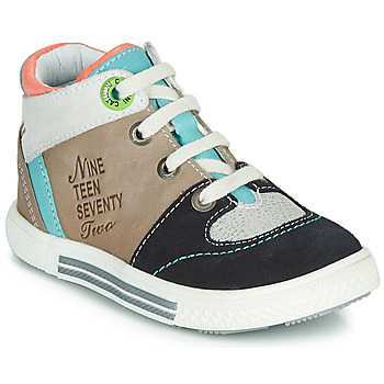 Shoes Boy Hi top trainers Catimini PIMENT Beige