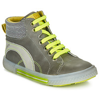 Shoes Boy Hi top trainers Catimini PAPYRUS Grey