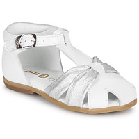Shoes Girl Sandals GBB MARIANO White