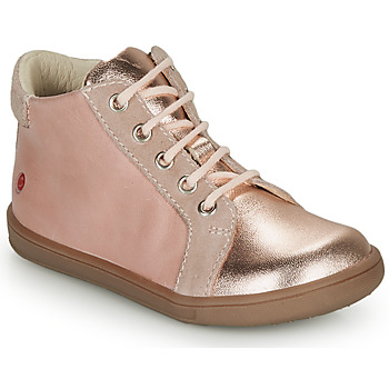 Shoes Girl Hi top trainers GBB FAMIA Pink