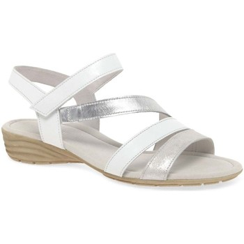Shoes Women Sandals Gabor Earl Womens Casual Sandals white