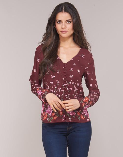 Clothing Women Tops / Blouses Casual Attitude LICINIA Bordeaux