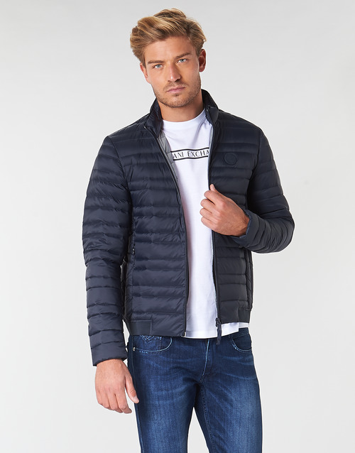 Clothing Men Duffel coats Armani Exchange 8NZB51-ZNW3Z-5580 Marine