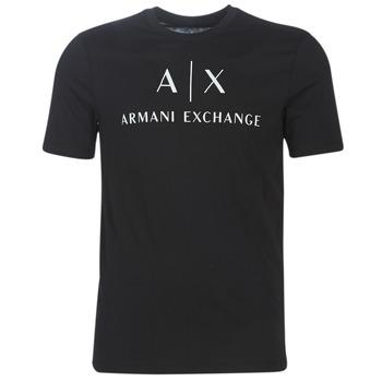 Clothing Men Short-sleeved t-shirts Armani Exchange 8NZTCJ-Z8H4Z-1200 Black