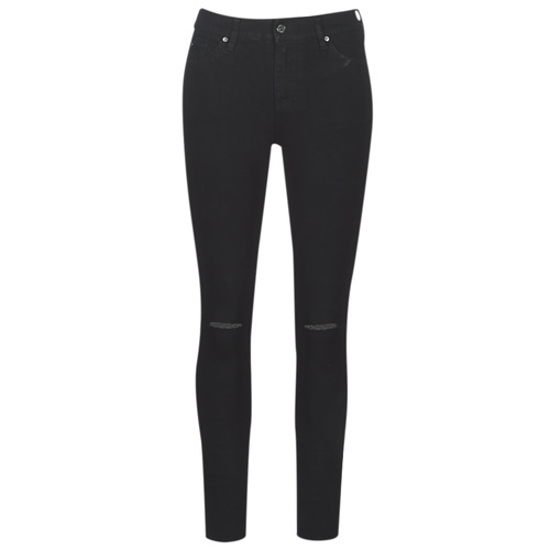 Clothing Women slim jeans Armani Exchange 6GYJ10-Y2HDZ-0206 Black