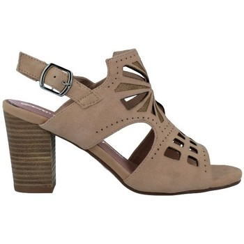 Shoes Women Sandals Carmela Shoes Carmela 66797 Sandalias Casual de Mujer BEIGE