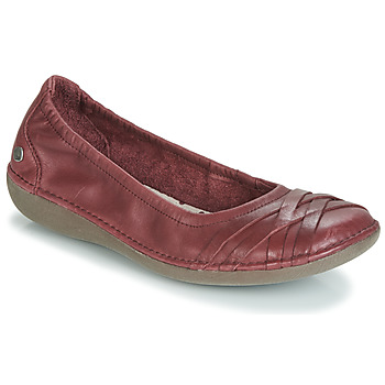 Shoes Women Flat shoes TBS MAIWENN Red