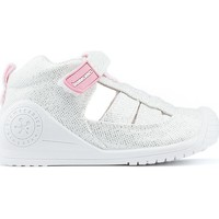 Shoes Girl Low top trainers Biomecanics shoes WHITE
