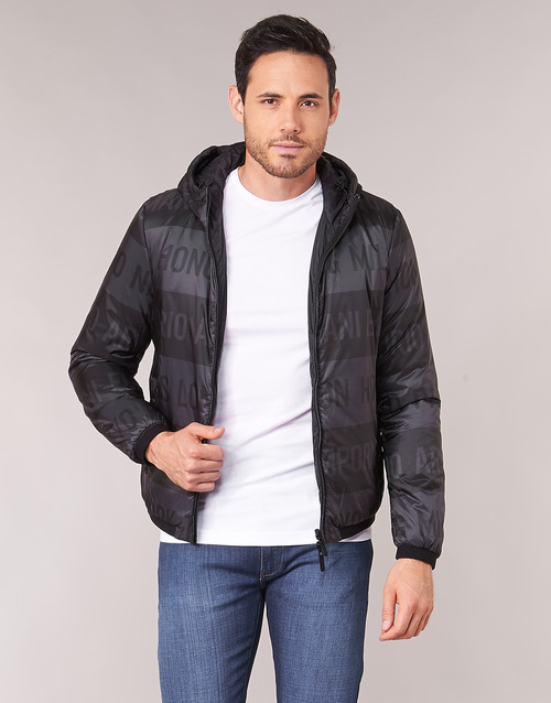 Clothing Men Jackets Emporio Armani 6G1B97-1NUNZ-F003 Black
