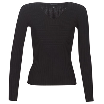Clothing Women Jumpers Emporio Armani 6G2MTH-2M05Z-1001 Black