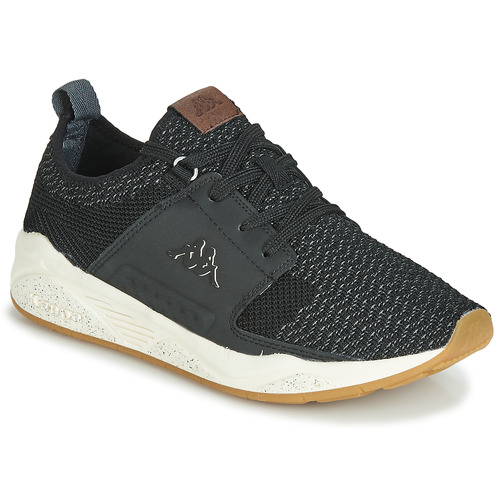 Shoes Men Low top trainers Kappa JASMO Black